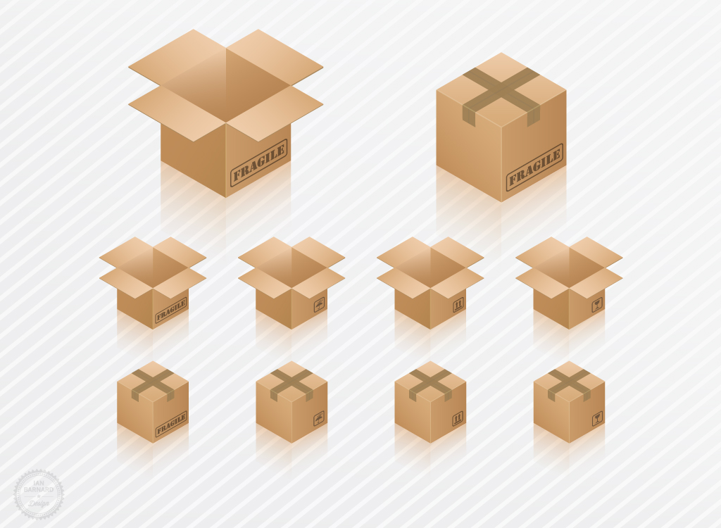 Image Gallery open and closed box