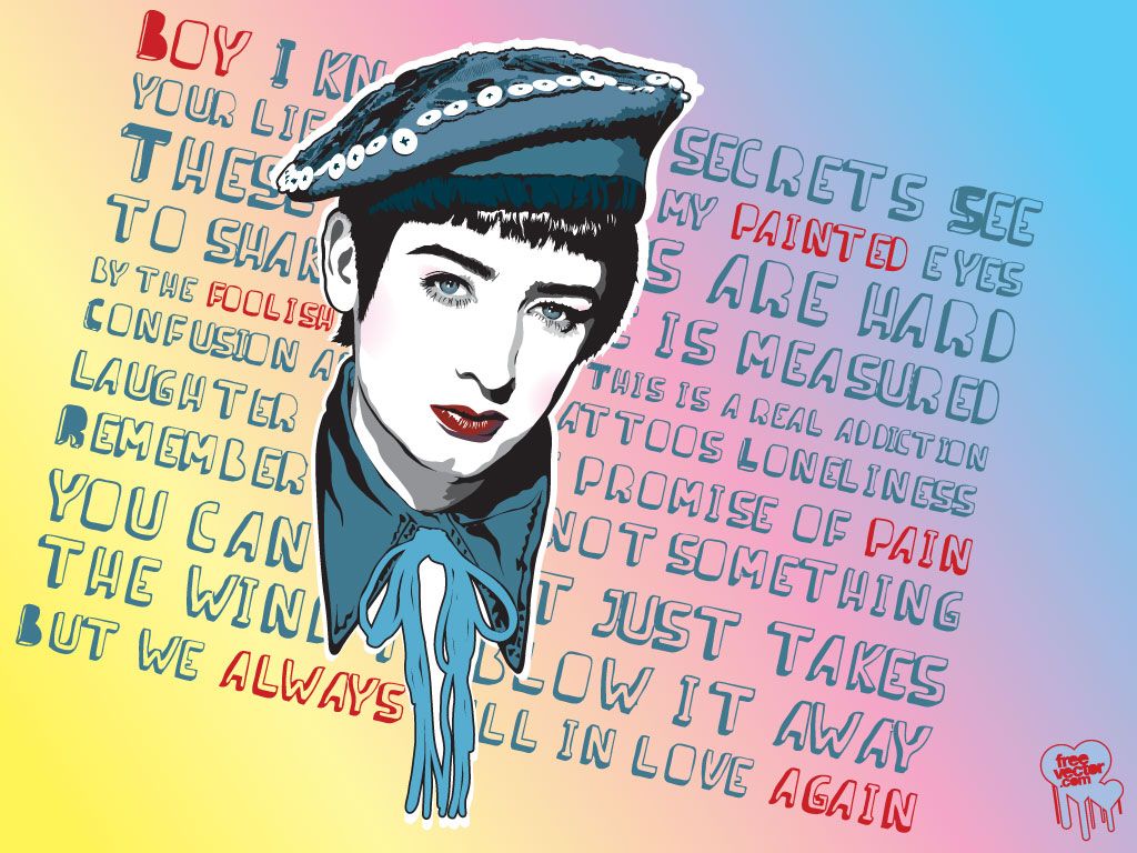 Boy George Portrait