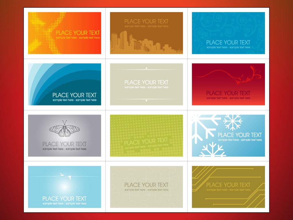 Templates for business cards zrom fbccfo Gallery