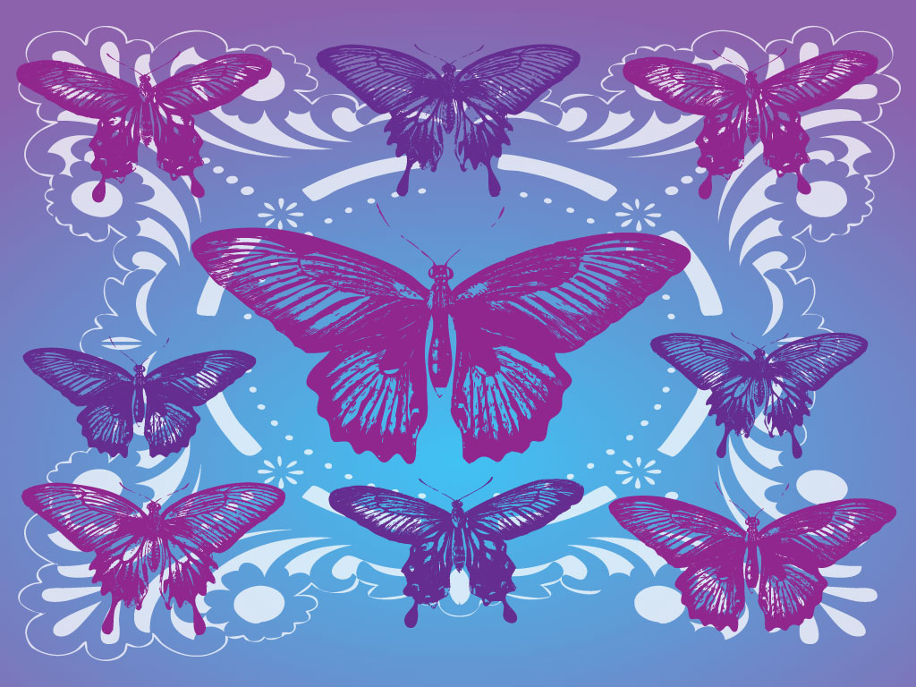 Butterfly Pattern Unique Inspiration