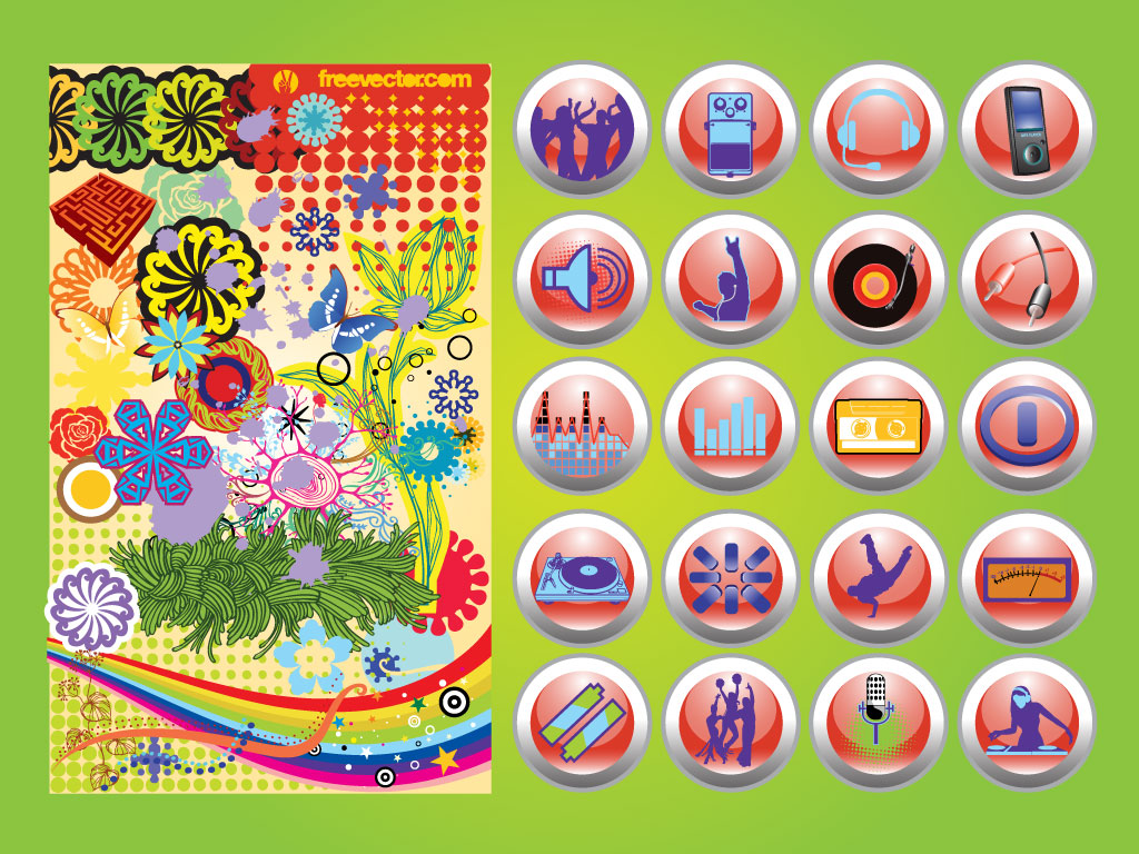 Buttons Design Mix