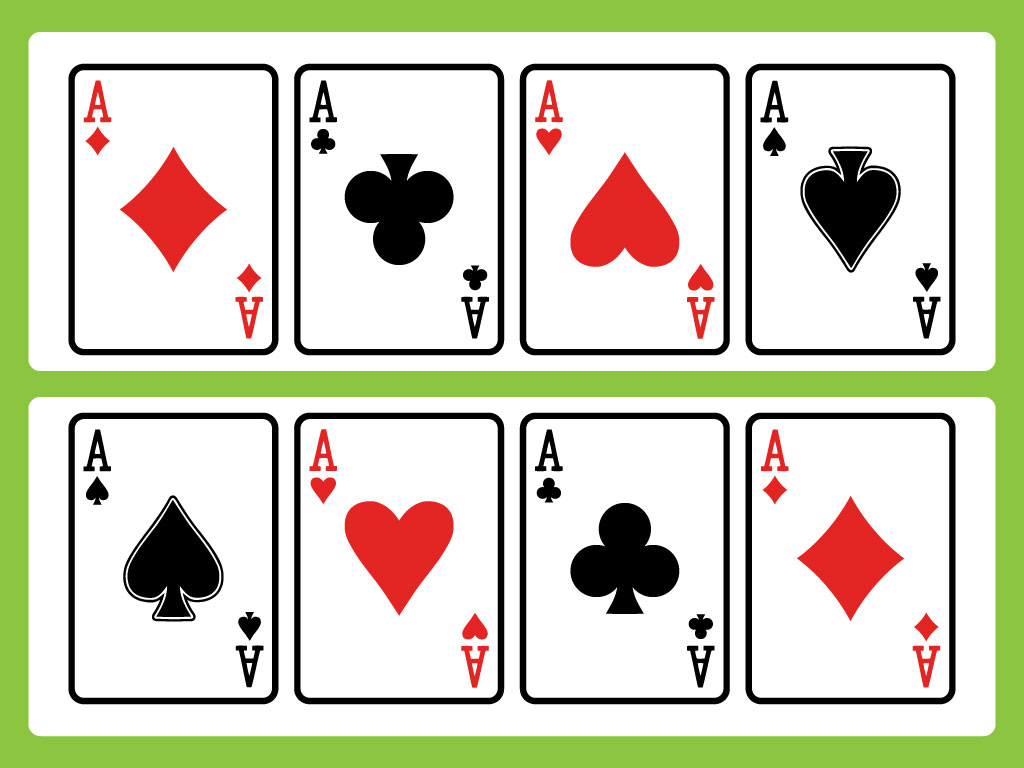 Gallery For gt Ace Playing Card Vector