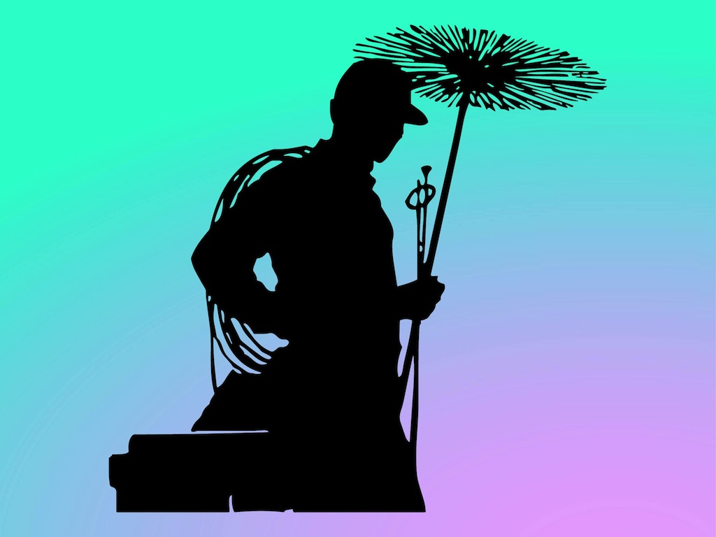 Chimney Sweep Silhouette