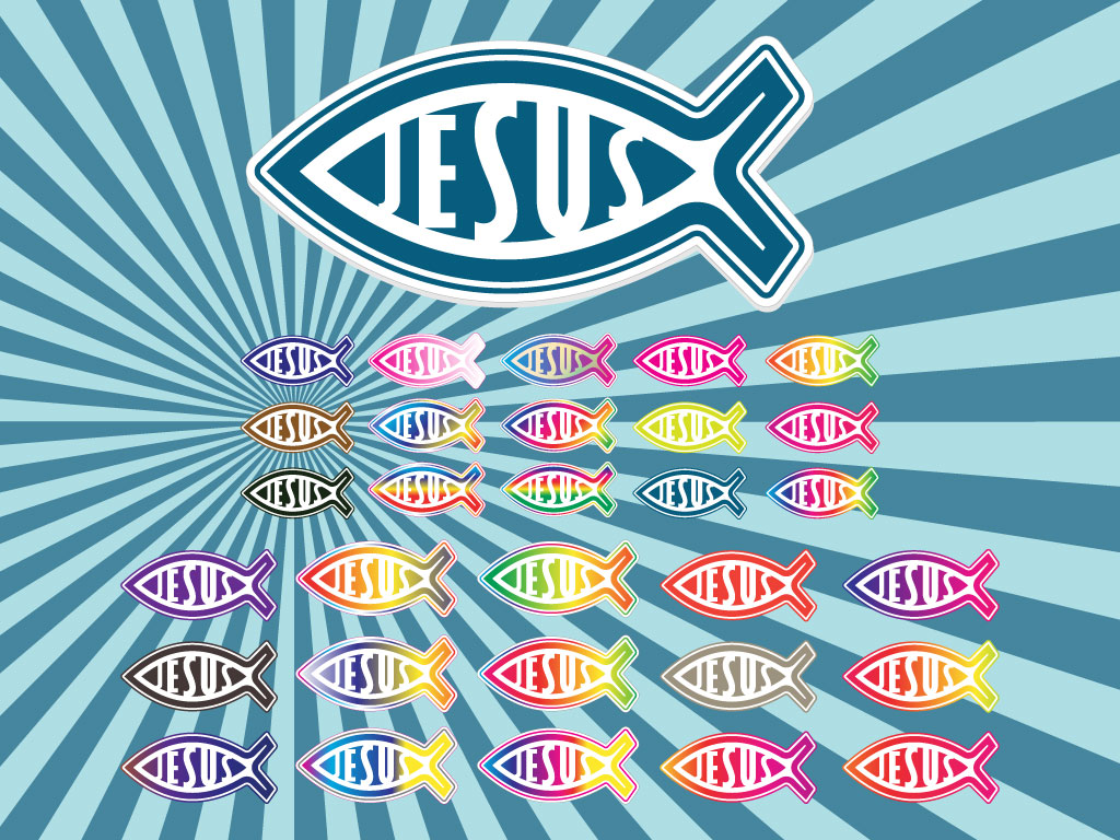 Christian Jesus Fish