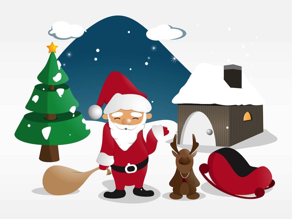 free christmas village clipart - photo #44