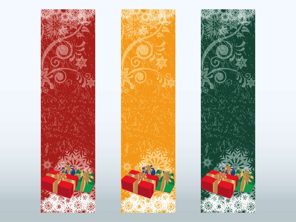 Nice VectorFree.com Inside Christmas Bookmark Templates