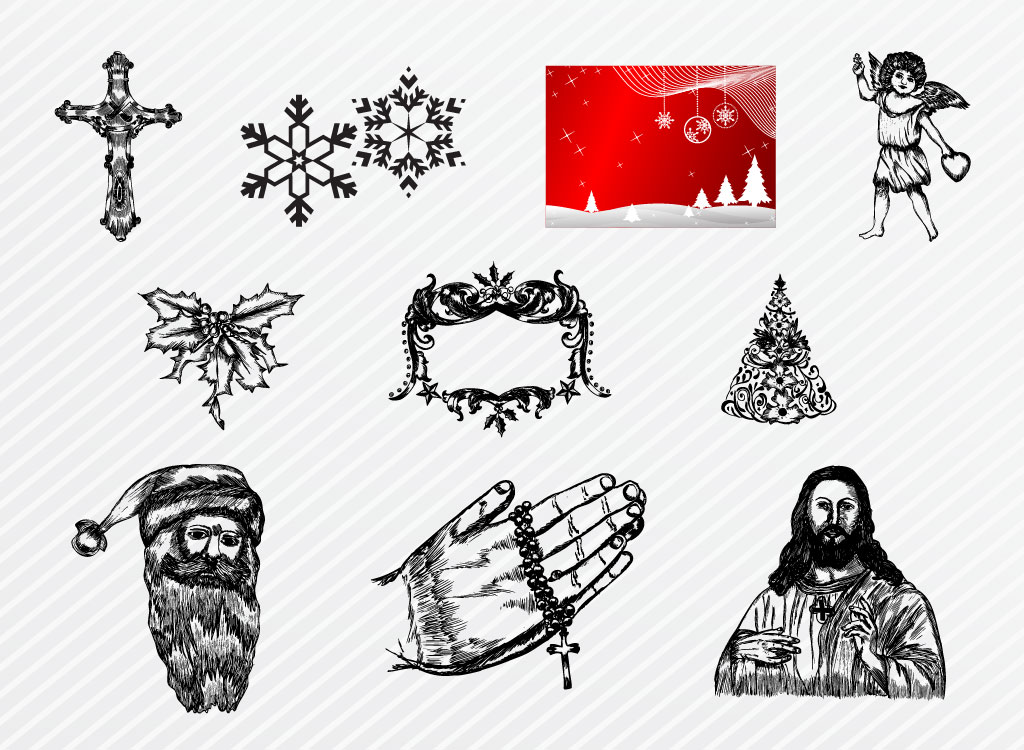 Christmas Illustration Set