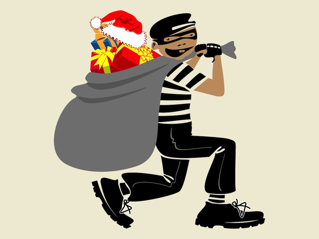 christmas thief - Stealing Christmas