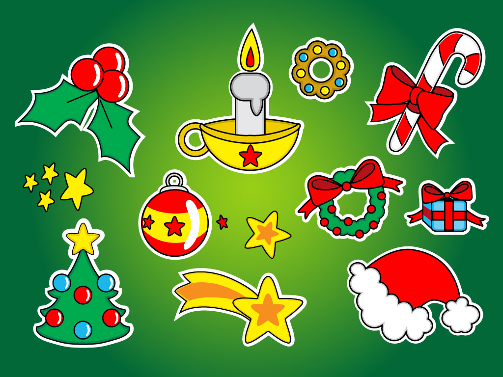 christmas clipart vector - photo #22