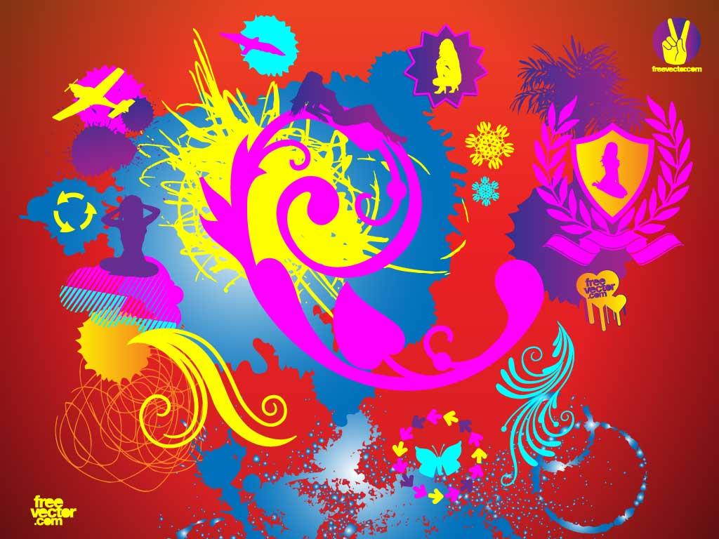 clip art graphics set