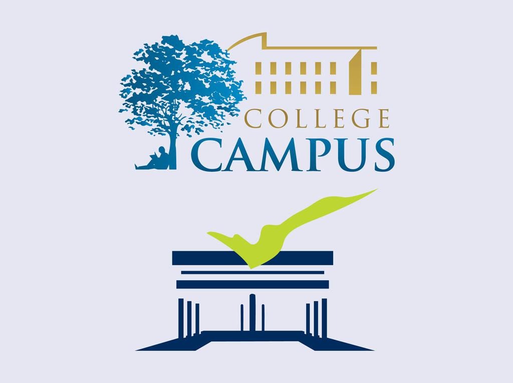 Old College Logos College Logos