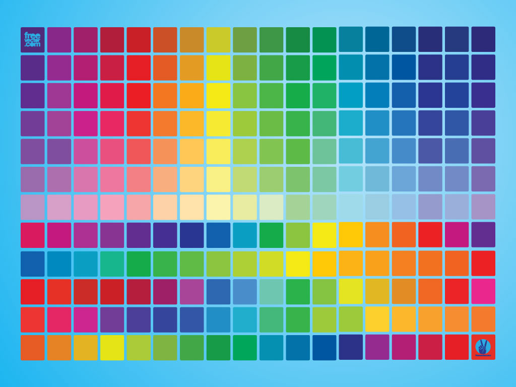 This free color swatch guide is a great quick reference chart for your ...