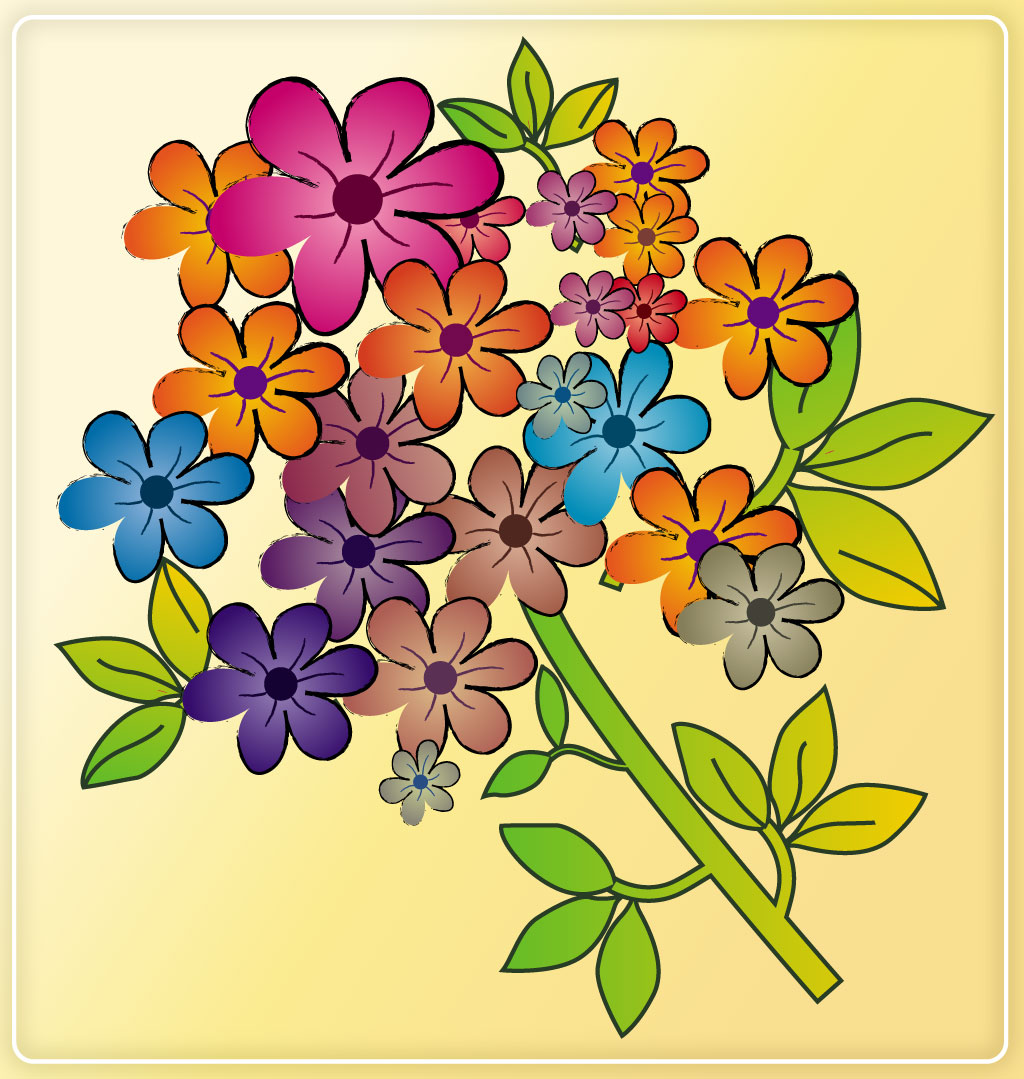 Pictures Of Beautiful Cartoon Flowers Flower Inspiration