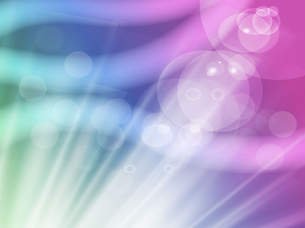 Colorful Lights Vector Background
