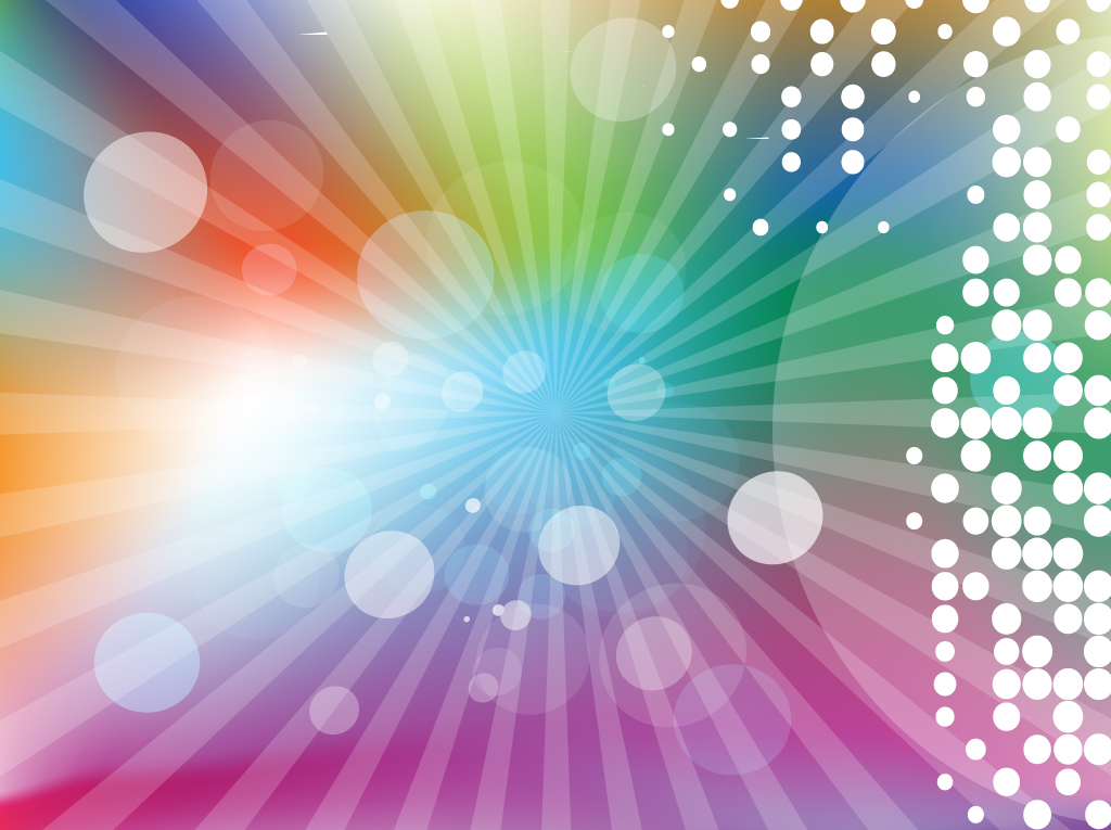 Colorful Lights Vector