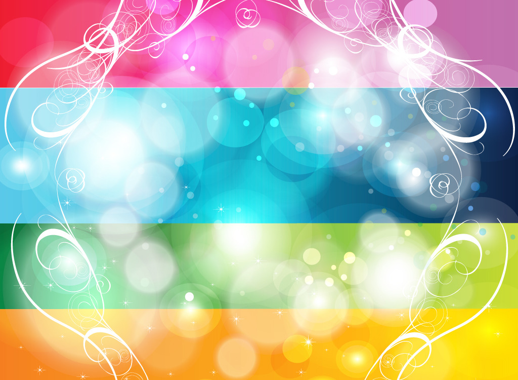 Colored Stripes Background Colorful Stripes Background