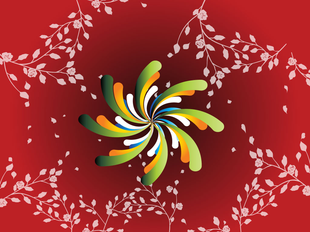 Colorful Swirl Graphics