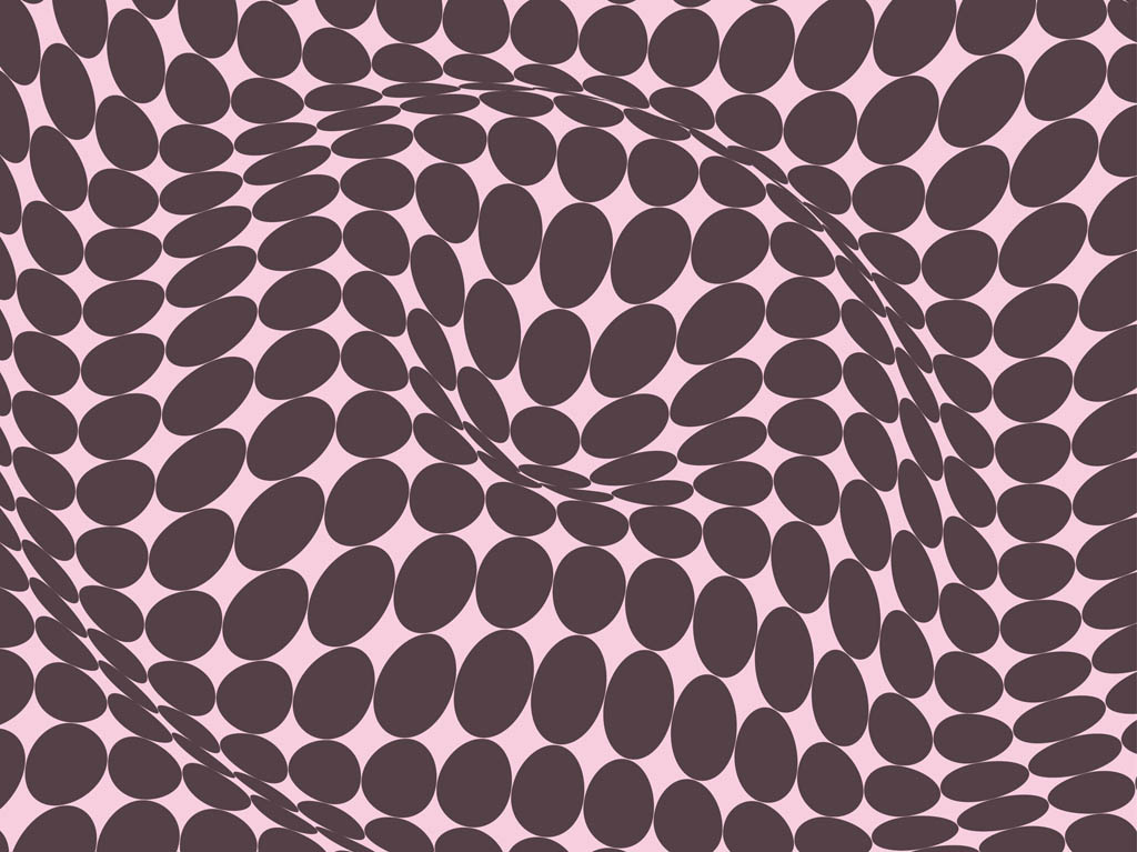Curved Dots Pattern