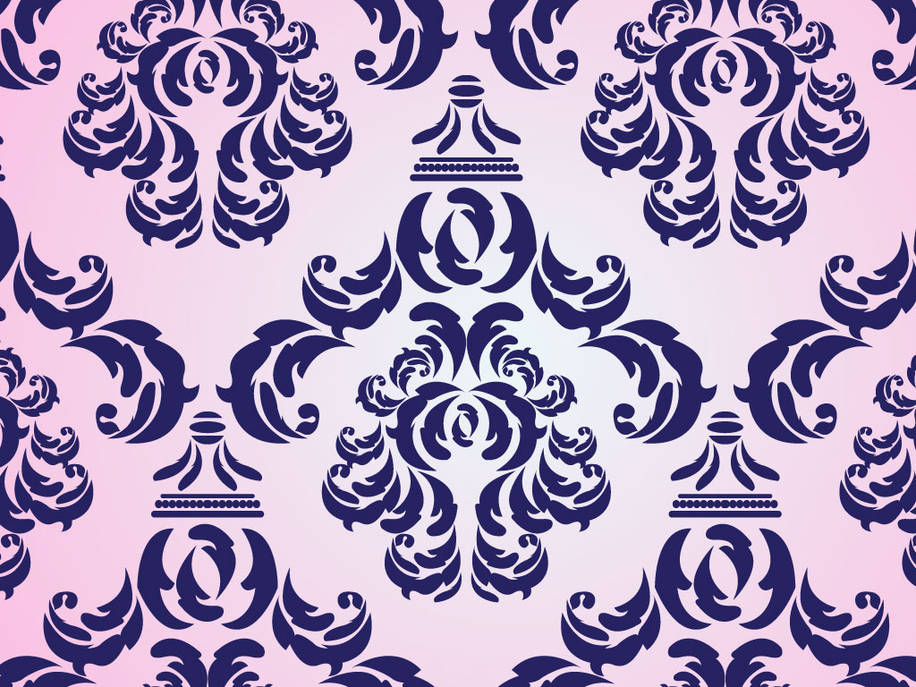Damask Vector Pattern