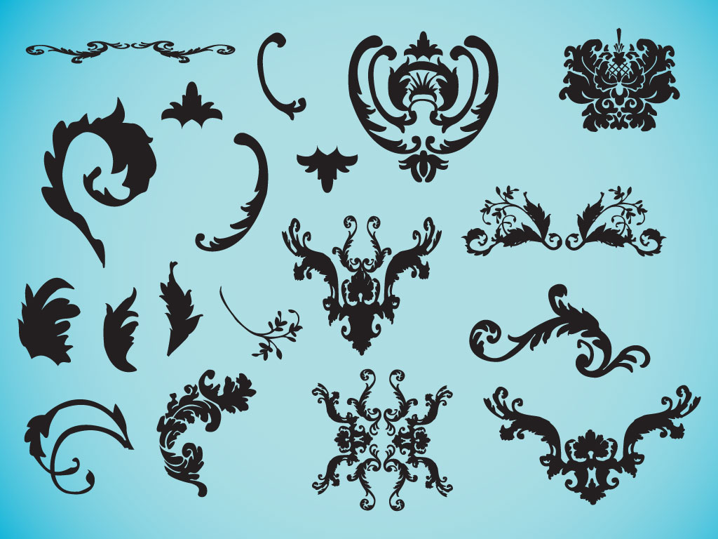 Decorative Victorian Vectors