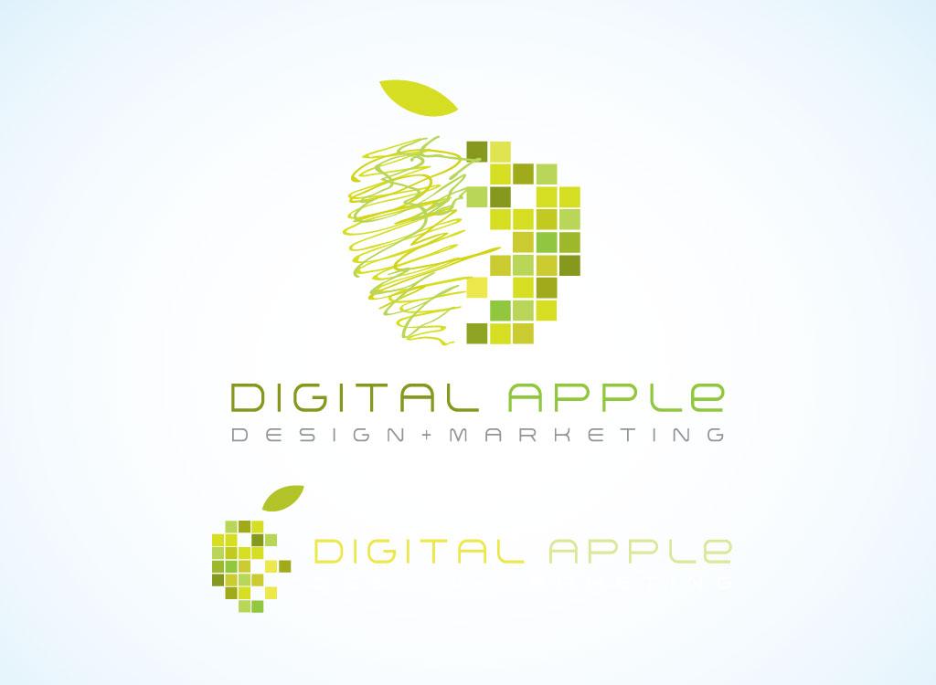 Digital apple design