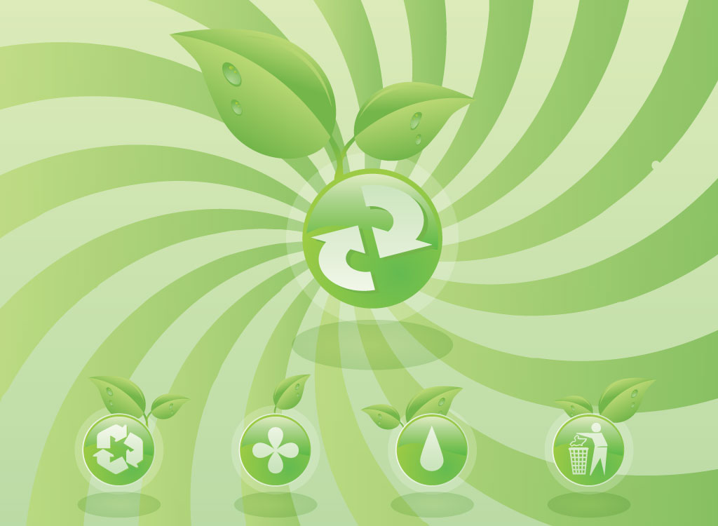 Eco Friendly Icons
