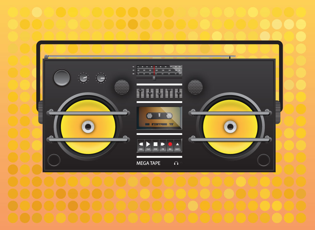 Eighties Boom Box