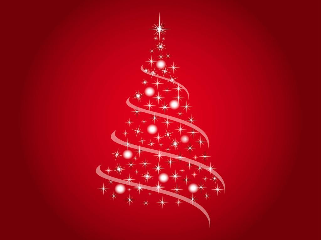 Christmas Tree Vector Free.Festive Tree Vector