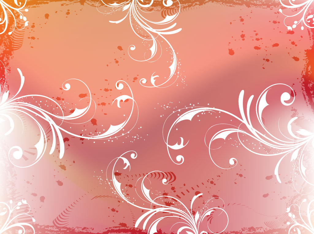 Filigree Grunge Background