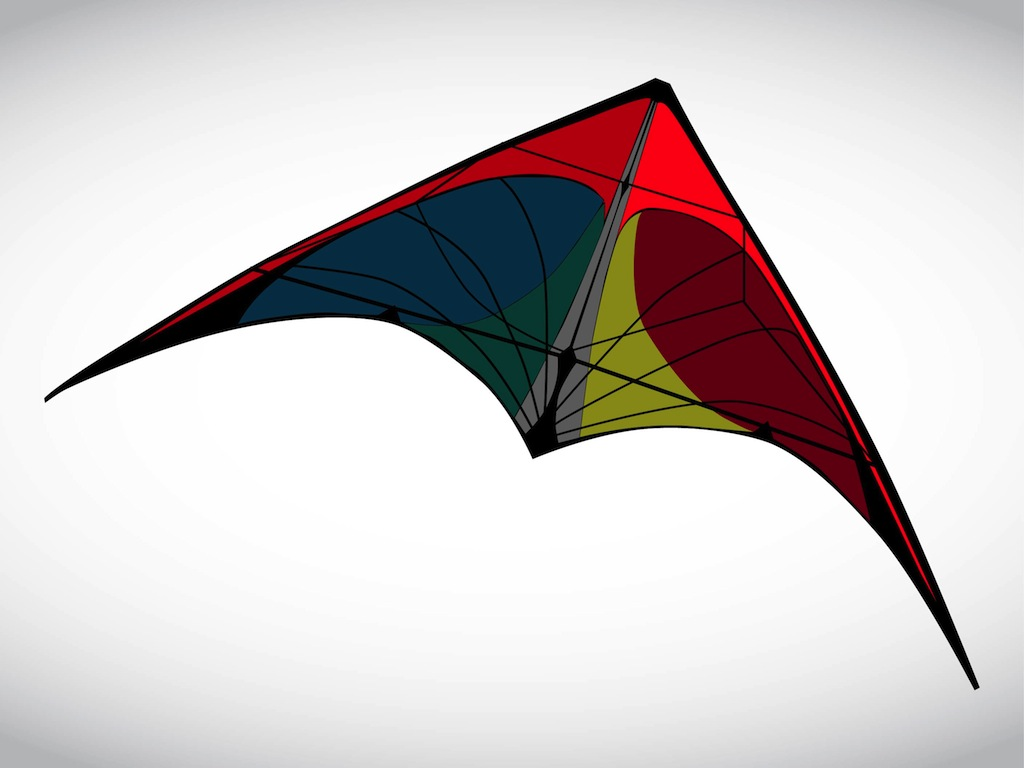 clipart kite flying - photo #48