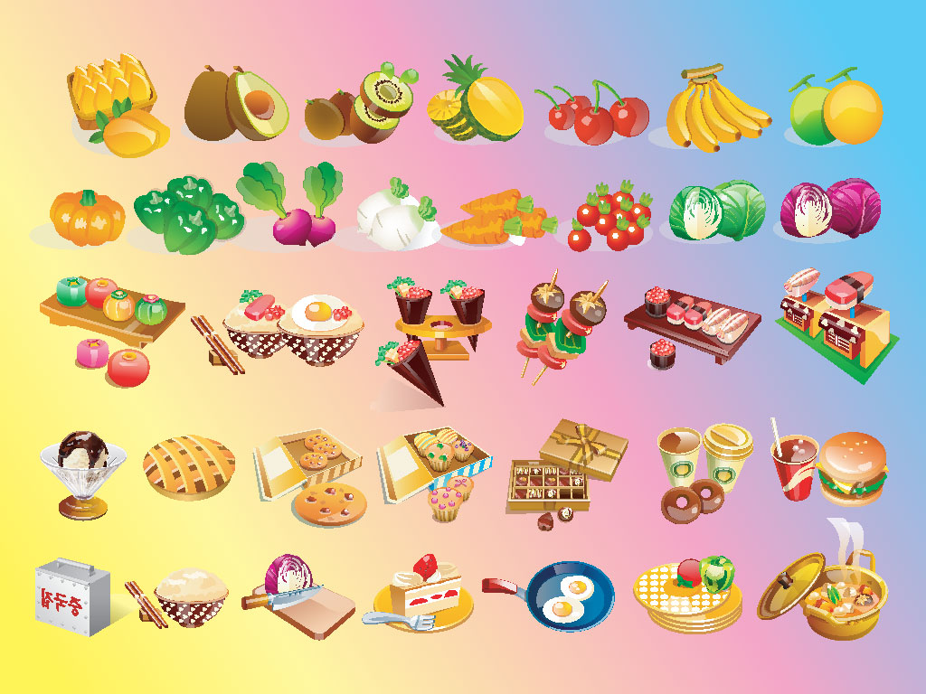 Funny Donut Clipart