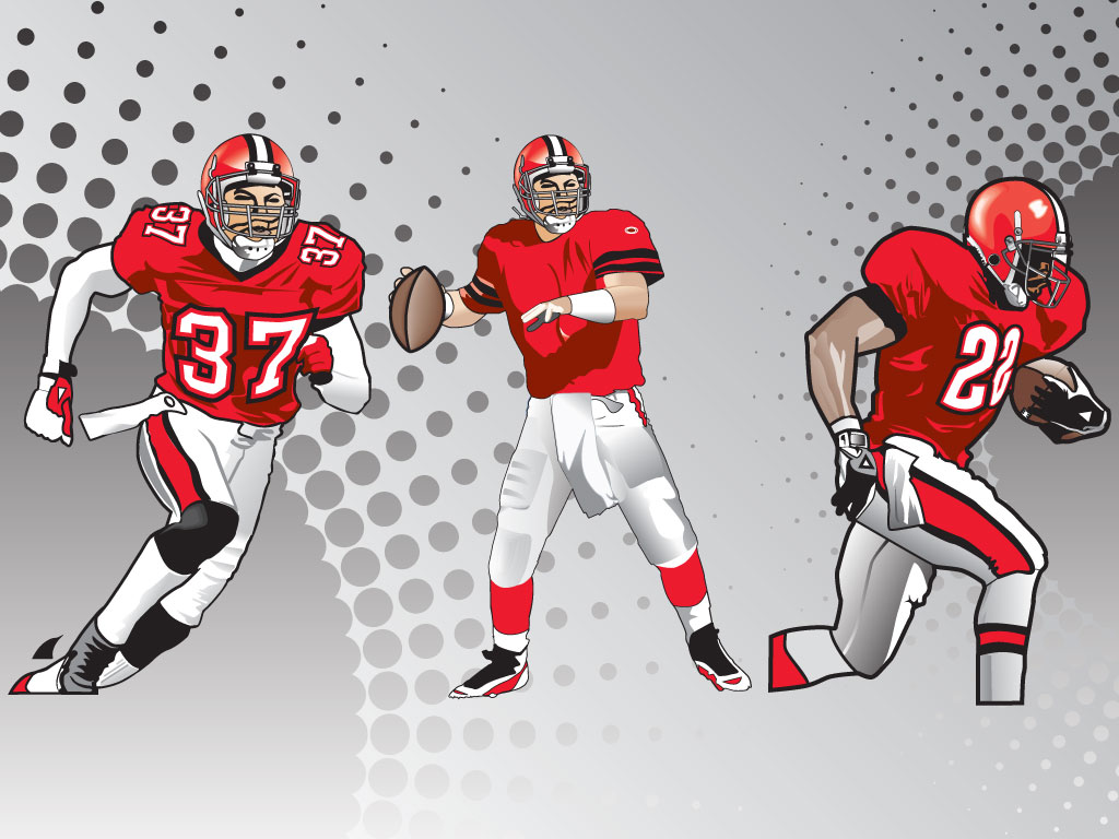 Football Players Vectors
