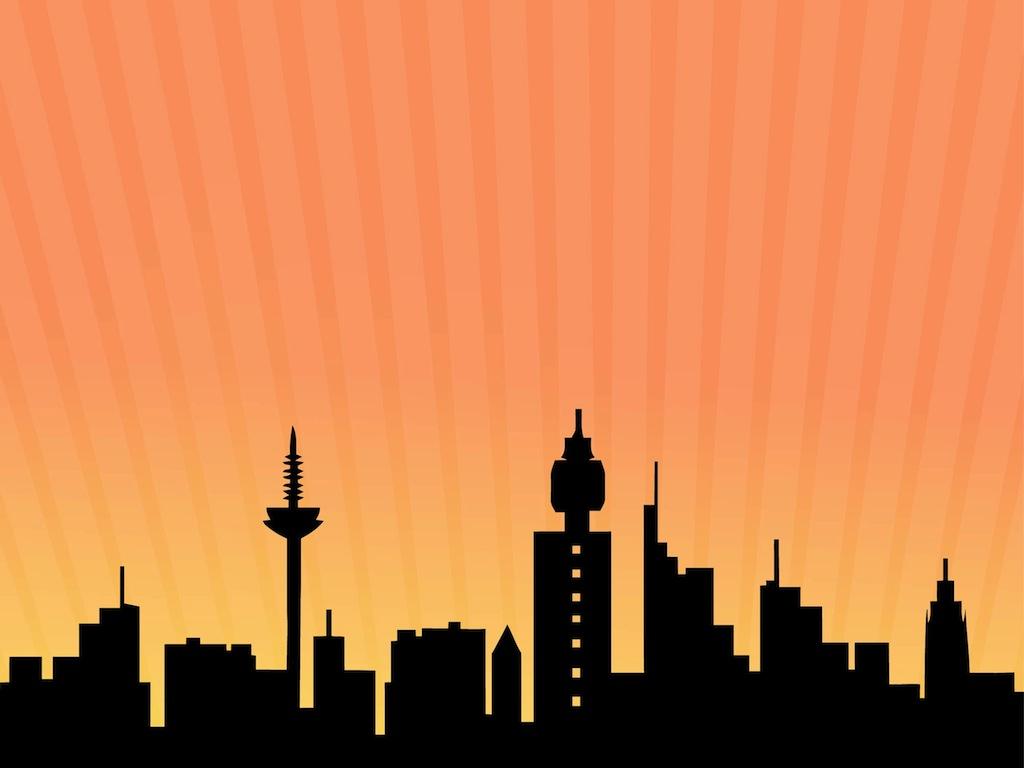 Frankfurt skyline for Graphic design frankfurt