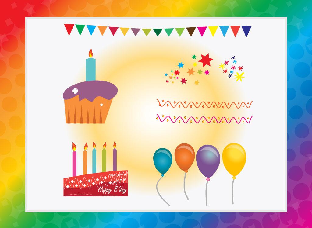 Free happy birthday vectors stopboris Gallery