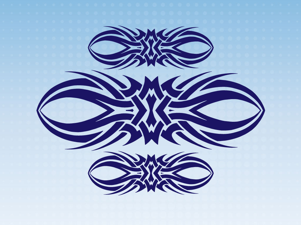 Free Tribal Vector Art
