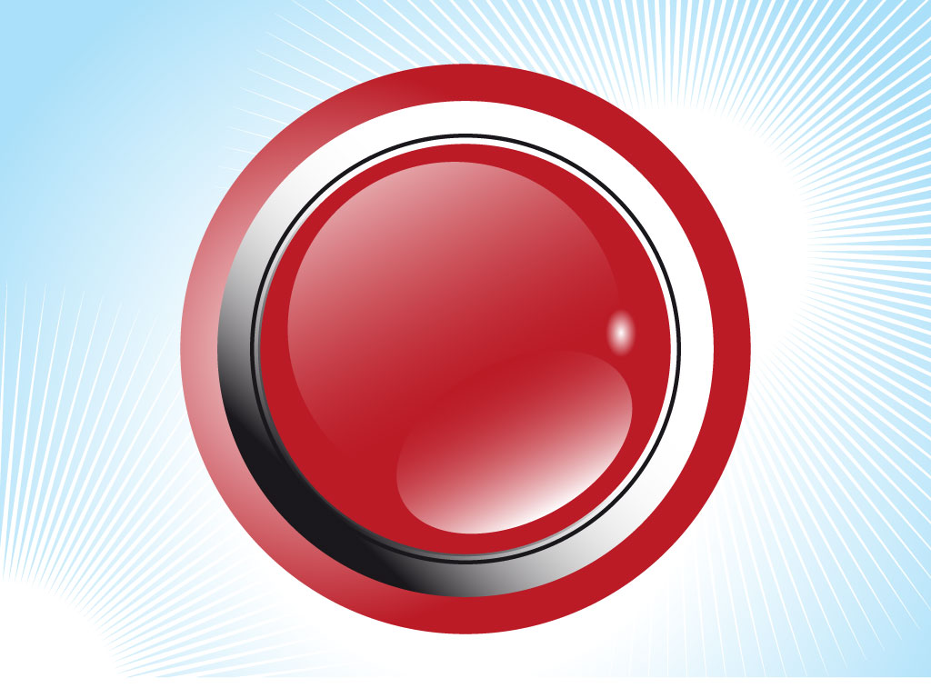 Glossy Alarm Button