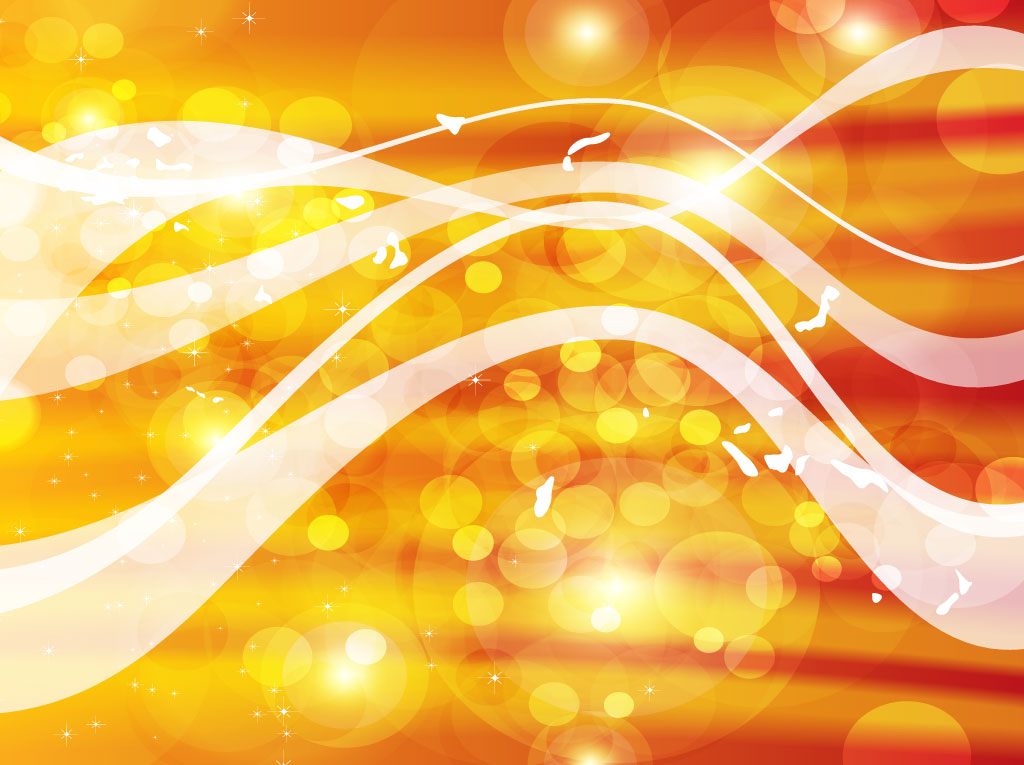 Gold Light Vector Background