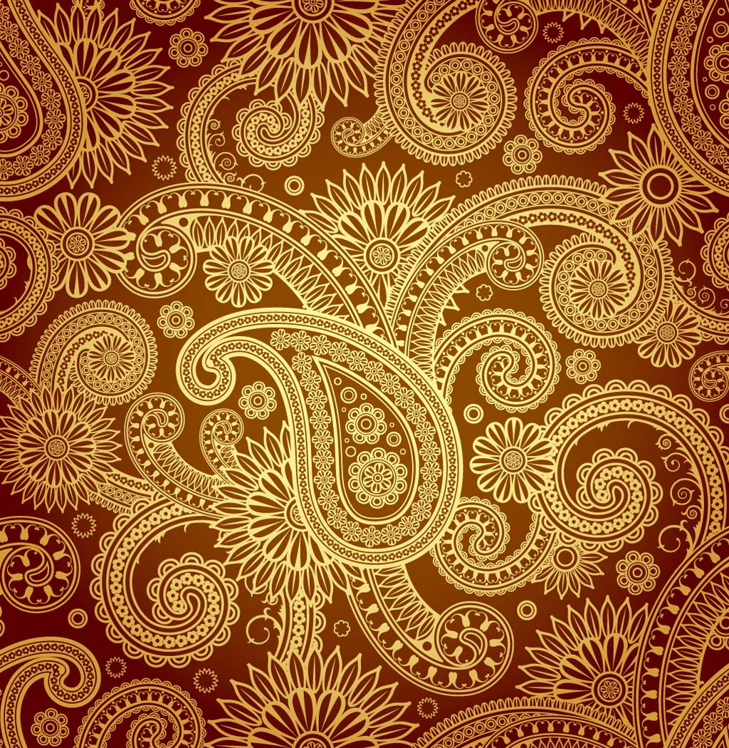 Indian patterns vector - photo#5