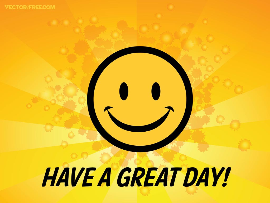 Have a Great Day Smiley-Face