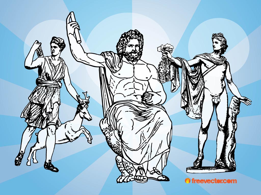 Greek Gods Vectors