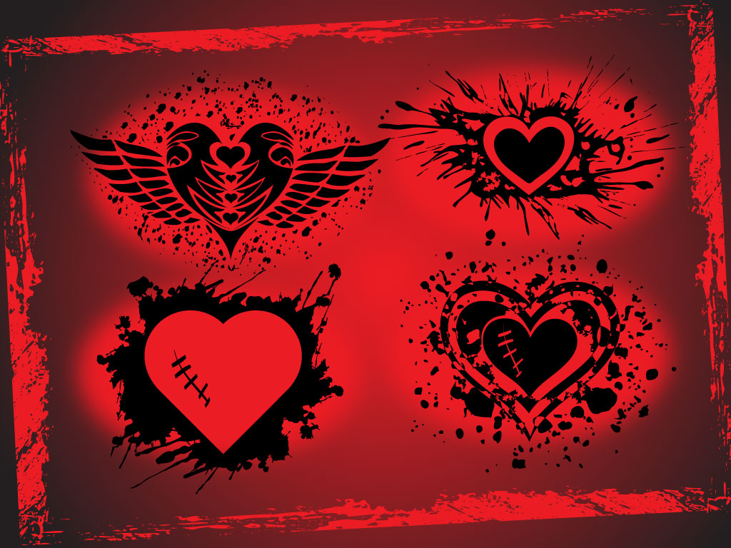 Cool Heart Designs to Draw Easy Cool Heart Designs Source