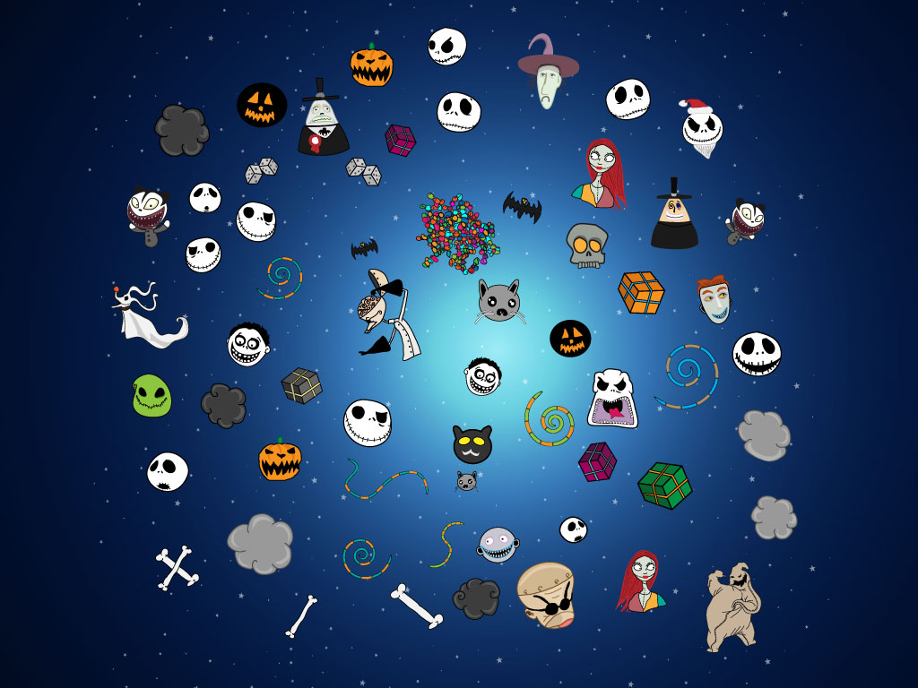 Download this Nightmare Before Christmas Halloween Town clip art pack ...