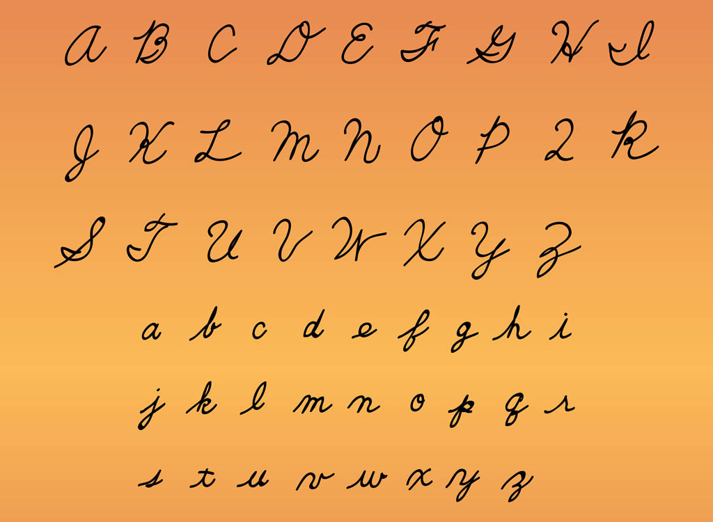 alphabet cursive writing Free printable alphabet and phonics resources in cursive (joined) script for primary school teachers.