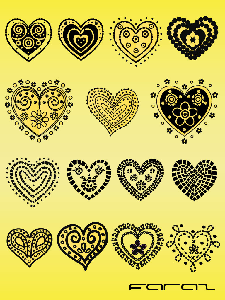 Heart Doodle Pack