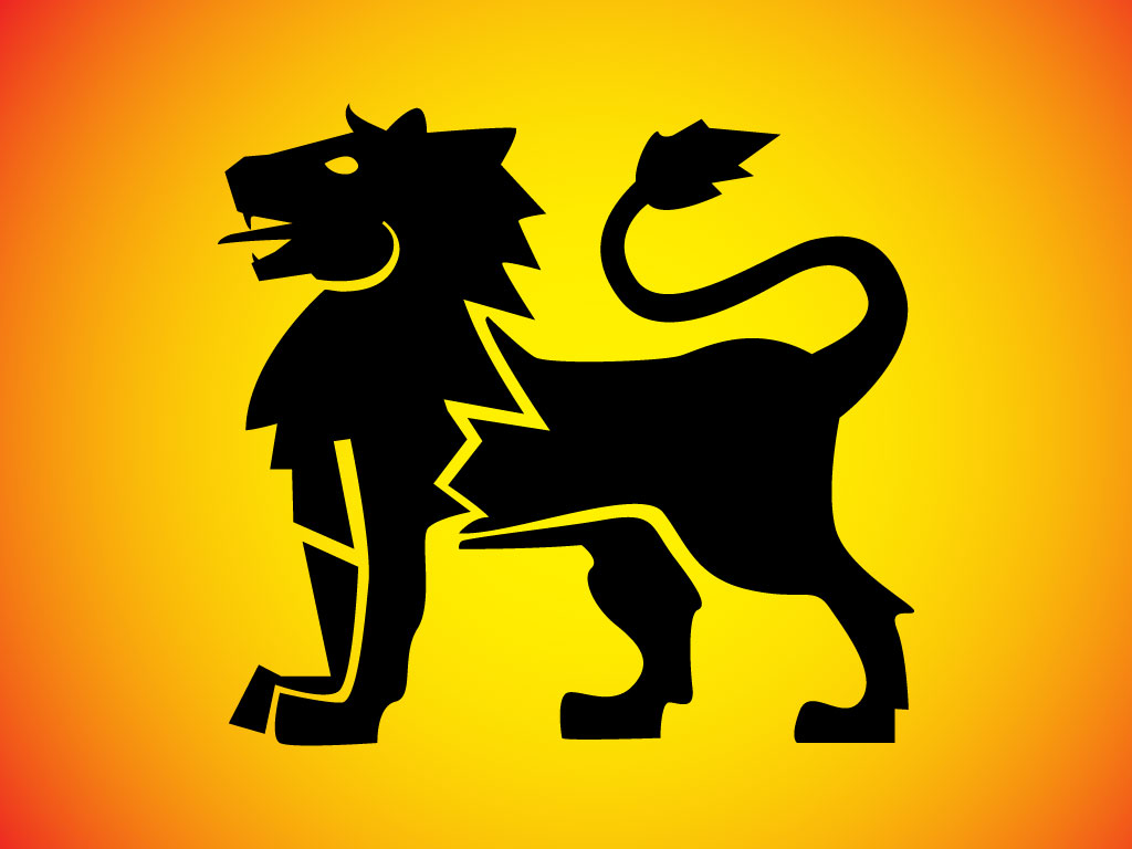 Shield Vector » Heraldic Lion Shield Vector Graphic - Free ...