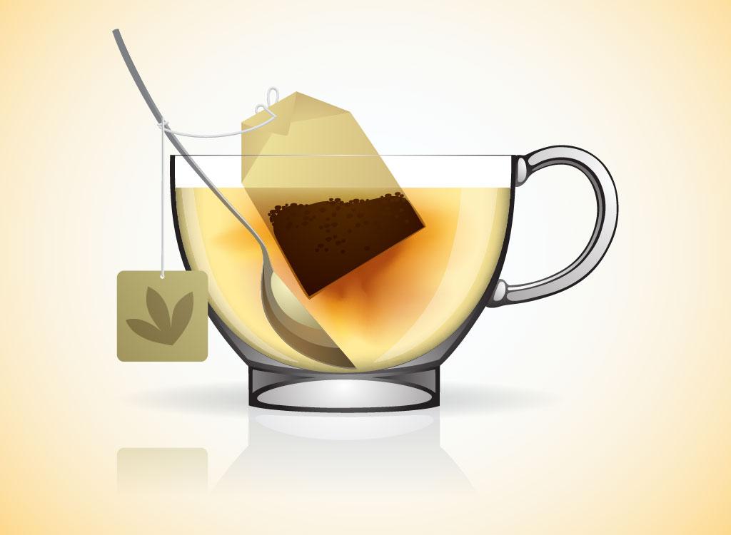 296 best images about Tea bag illustrations on Pinterest ... |Hot Tea Art