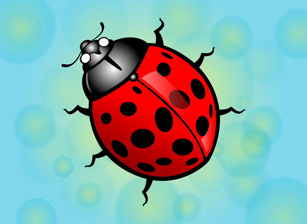 Magnificent Lady Bug Vector 1024 x 750 · 73 kB · jpeg