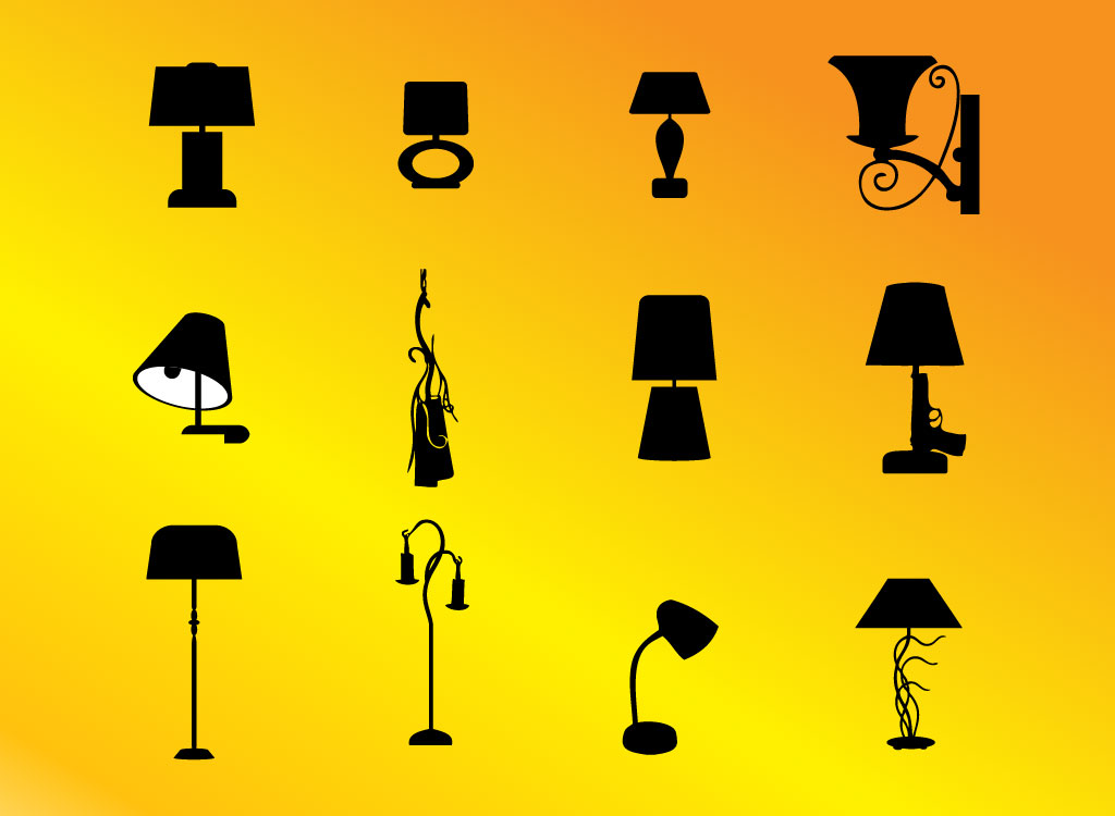 Lamp Silhouettes