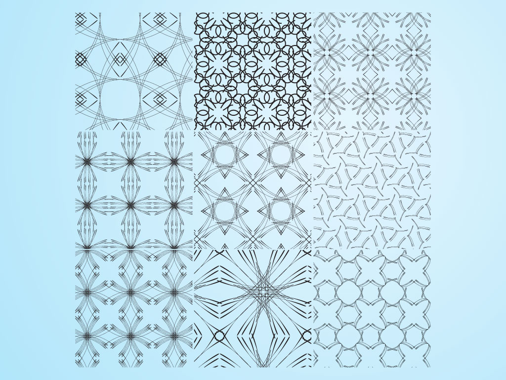 Line Art Patterns : Line art patterns