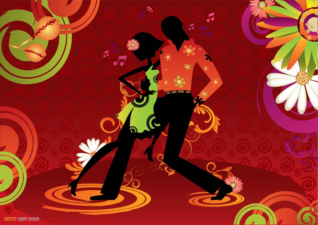 Latin dancing couple for 1234 get on the dance floor video song free download